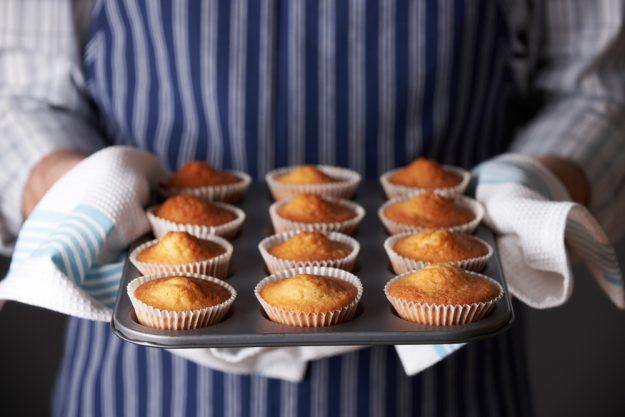 Cupcake-Backkurs Düsseldorf – gebackene Cupcakes