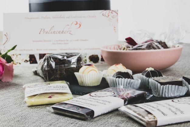 Online Firmenfeier Pralinenbox