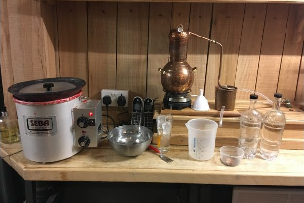 Gin selber machen Düsseldorf – Brennblase