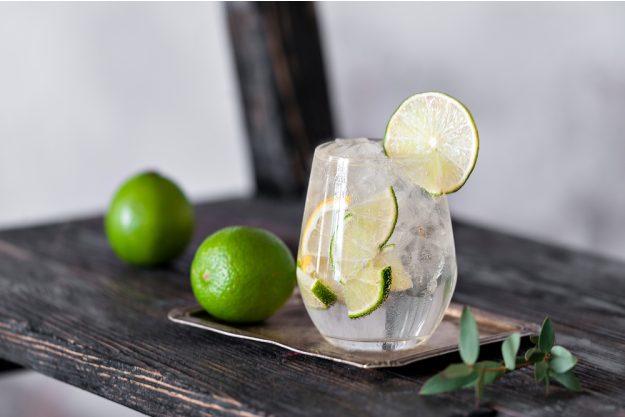 Gin selber machen Düsseldorf – Gin mit Limette
