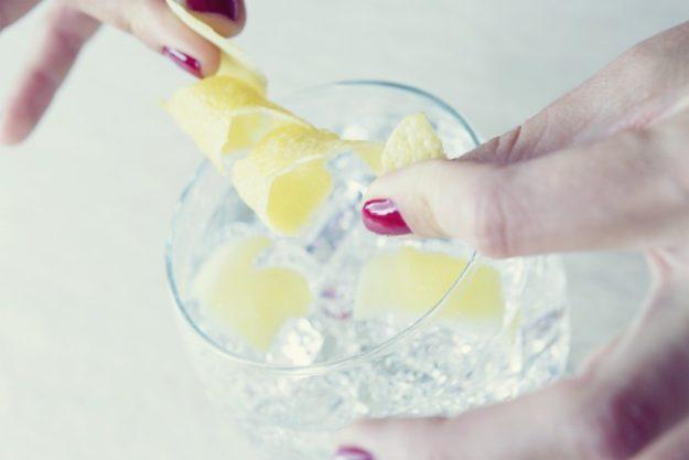 Gin-Tasting Düsseldorf – Gin mit Zitronenschale
