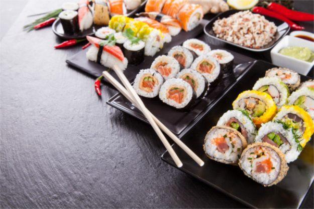 kulinarische Stadtführung Düsseldorf – Sushi-Variation
