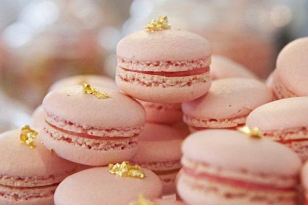 Macarons-Backkurs Düsseldorf – rosa Macarons