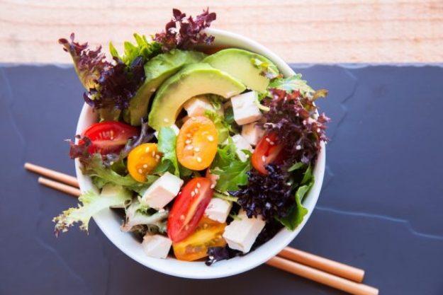 Die Welt auf vegetarisch –Vegetarische Bowl