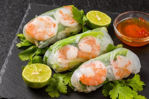vietnamnesischer Kochkurs online die besten Sommerrollen
