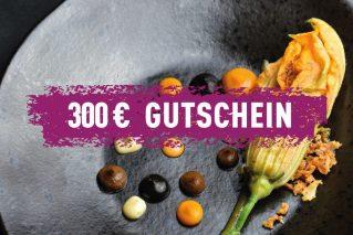 Erlebnis-Geschenk-Gutschein 300 € Geschenkgutschein