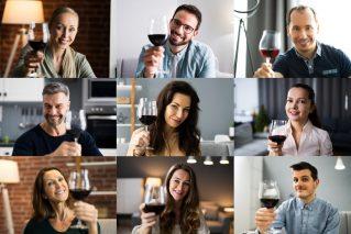 Online Teamevent mit Weinprobe Firmenweinprobe@Home