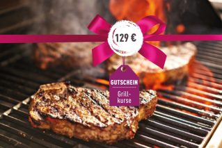 Grillkurs-Gutschein Grillkurs-Gutschein 129€