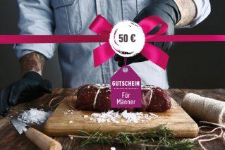 Gutschein für Männer Gutschein für Männer 50€