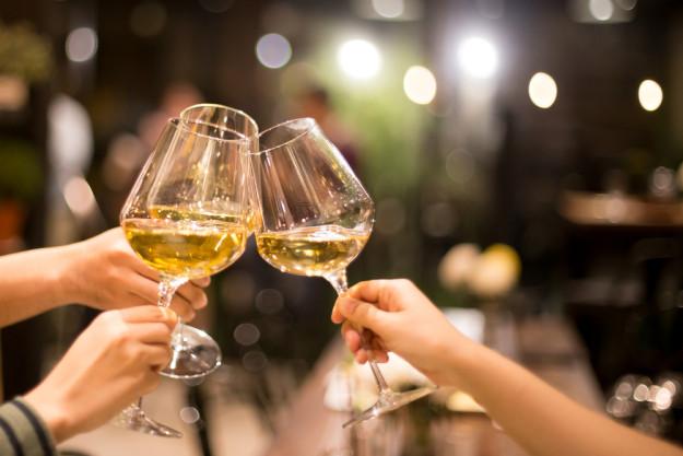 Weinseminar in Nürnberg - Rotweinfarbe