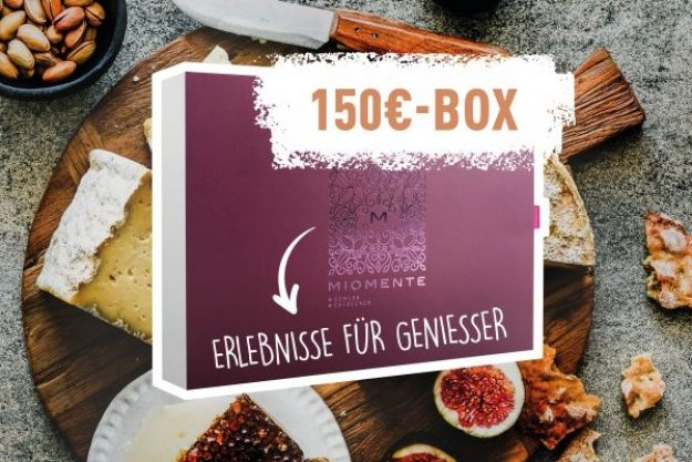 Erlebnis Geschenkgutschein 150 € –Geschenkidee