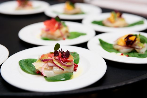 Fisch-Kochkurs Nürnberg - Fischvorspeise mit Basilikumschaum