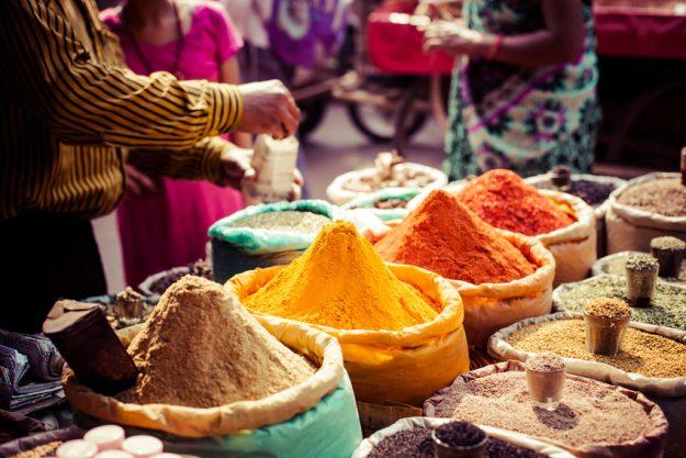 Incentive Nürnberg - indischer Gewürzmarkt