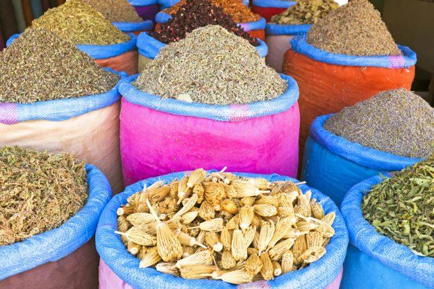 Indischer Kochkurs in Nürnberg - Gewürzmarkt