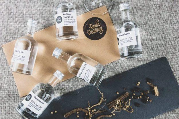 Virtuelle Brennereiführung mit Gin-Tasting zu Hause – Gin-Sorten