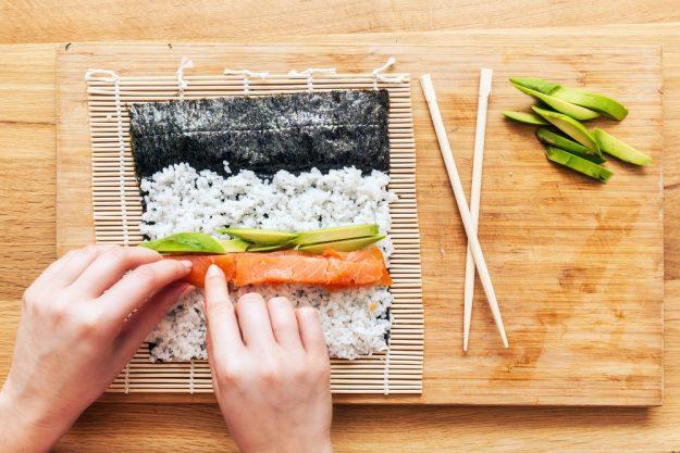 Sushi-Kurs Nürnberg – Sushi rollen