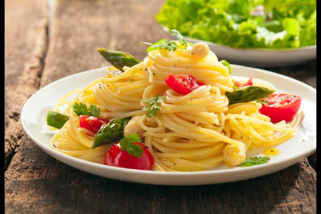 Vegetarischer Kochkurs Nürnberg frische Pasta mit Tomaten