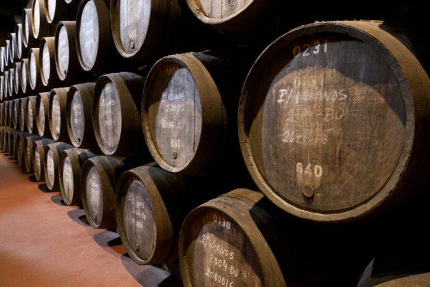 Weinseminar in Nürnberg - Fässer