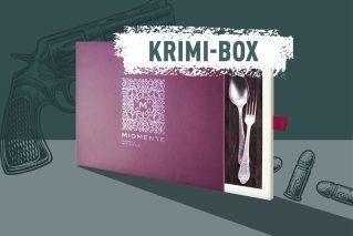 Krimidinner-Gutschein  Miomente KRIMI-Box