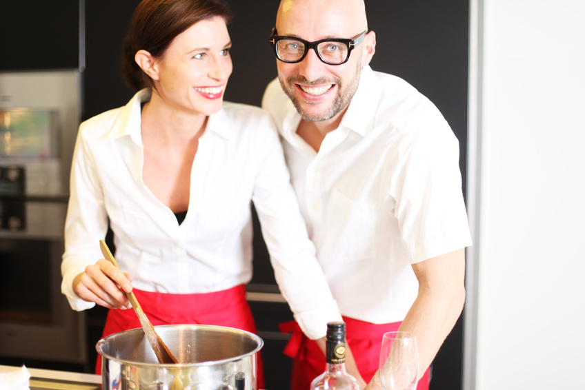Küchenparty mit Kollegen in Münster