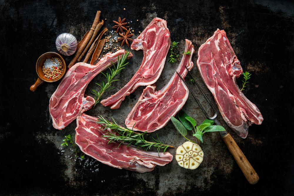 Fleisch hoch 5