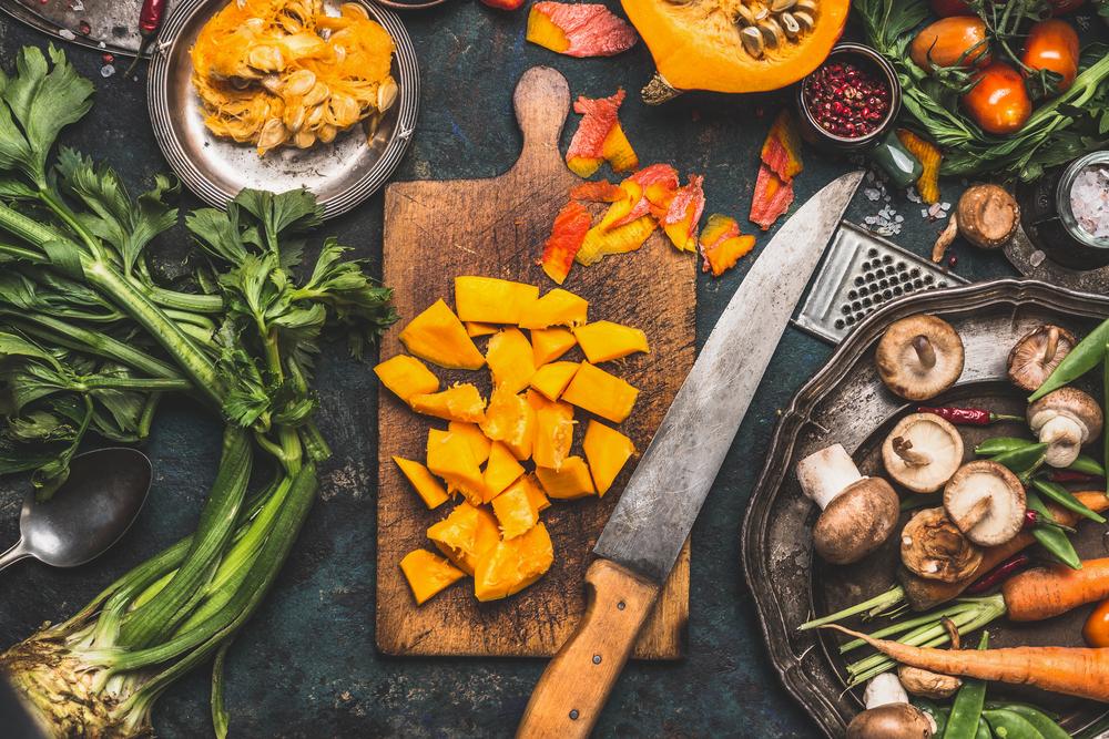 Saisonale Küche für Genießer