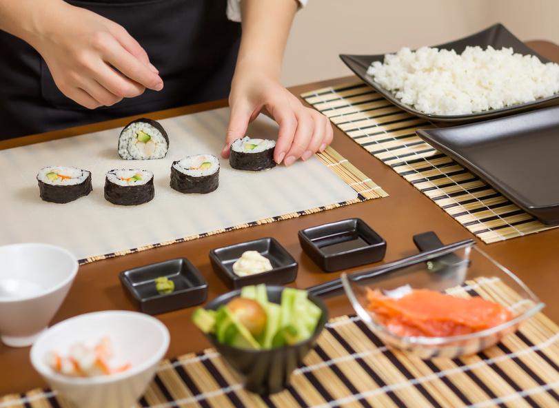 Sushi-Kunst
