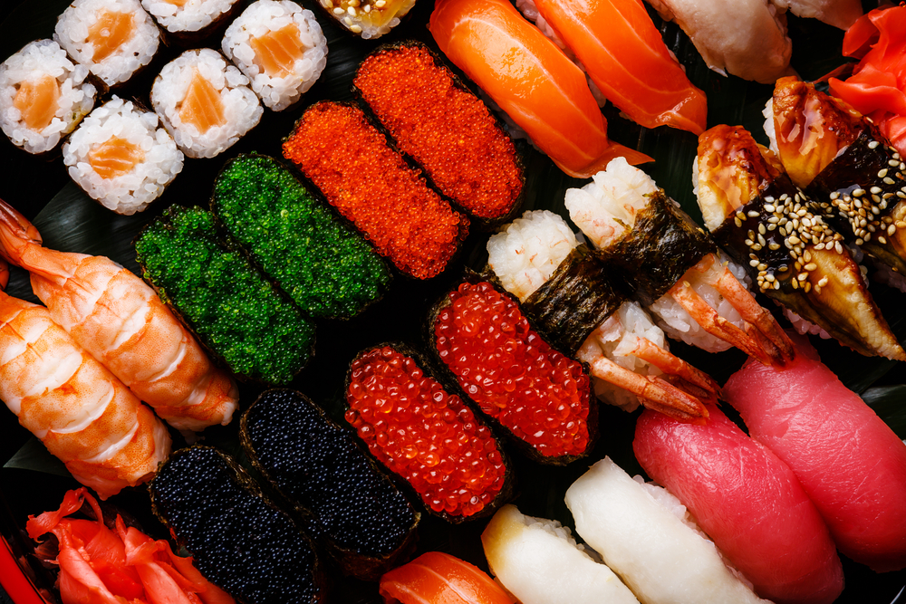 Meisterhaftes Sushi