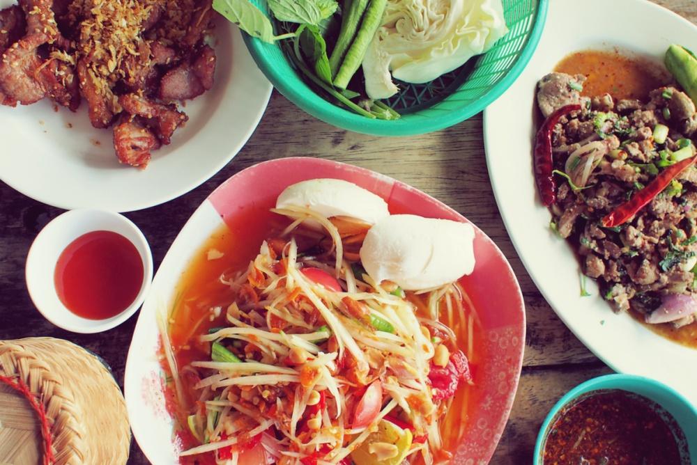 Kulinarisches Siam