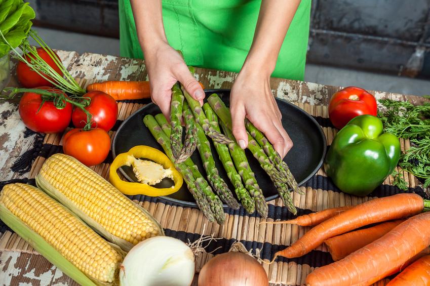 Frisches Gemüse für Liebhaber