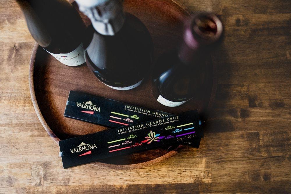 Geheimnis vom Glück: Schokolade und Wein - Siebeldingen
