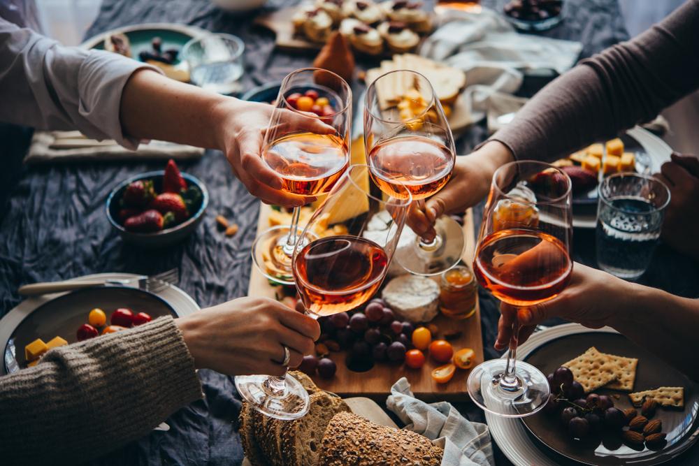 Weintasting mit Menü - Herten