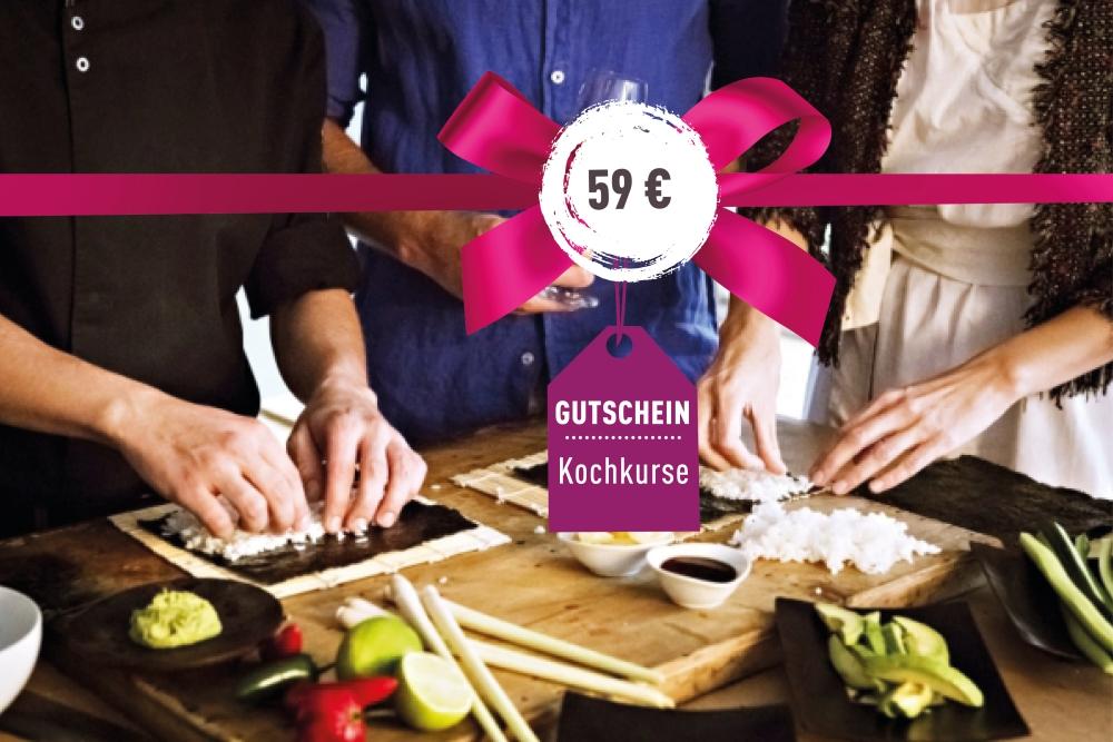 Kochkurs-Gutschein 59€