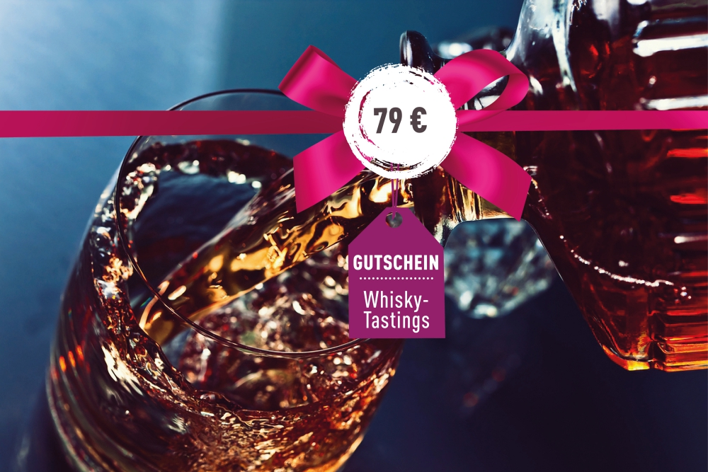 Gutschein für ein Whisky-Tasting 79€