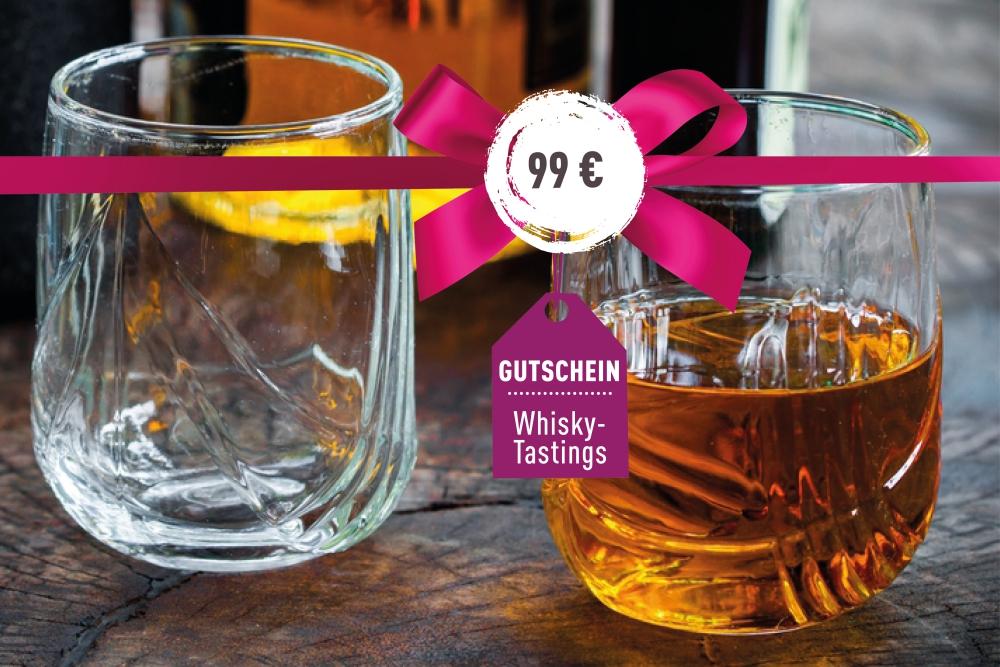 Gutschein für ein Whisky-Tasting 99€